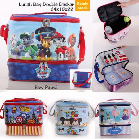 RS Lunch Bag Double Decker PAw Patrol