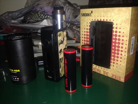 Smoant charon tc 218 psk all authentic