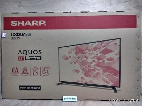 LED TV 32'' Sharp LC-32LE180i (BNOB)