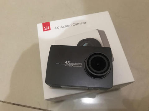 Xiaomi yi 2 4K internasional version Full set second !!!