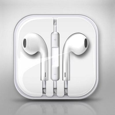 Apple Iphone EarPods with Remote and Mic - Earphone Handsfree Headset Iphone
