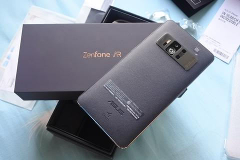 Asus Zenfone AR ZS571KL Triple Camera, 8GB RAM, 128GB Storage , Leather Cover