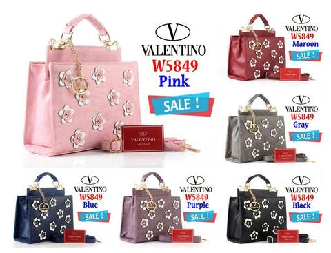 Bag Valentino Dotcom Flower 5849(SALE)