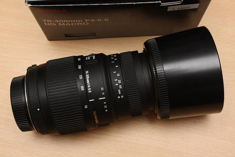 [ CAMERA GOODS ] FS Sigma AF 70-300mm DG Macro For Nikon - Excellent Condition