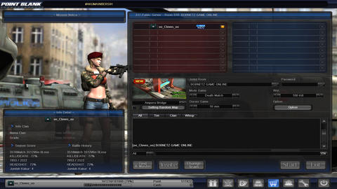 CHAR ID PB POINTBLANK GARENA MAYOR FULL TITEL oo_Cloves_oo