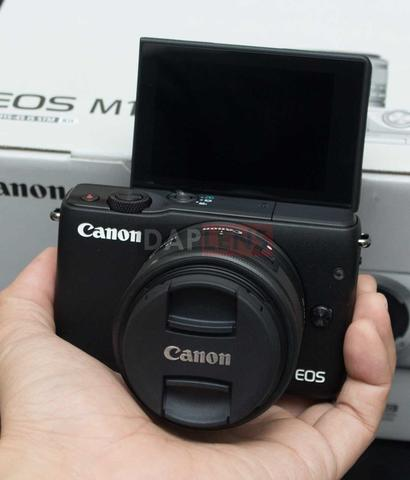 [DAPLENS] CANON EOS M10 KIT 15-45MM IS STM BARU+BANJIR BONUS!