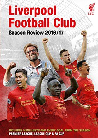 DVD Liverpool Season Review 2016-2017 (Copy Original DVD9)