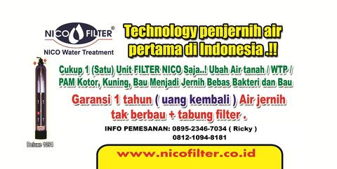 filter air-saringan air-penyaring air nico