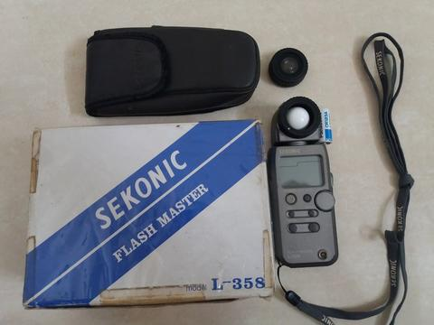 Light Meter Sekonic L-358