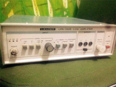 LOG Amp merk LEADER LPA 1305