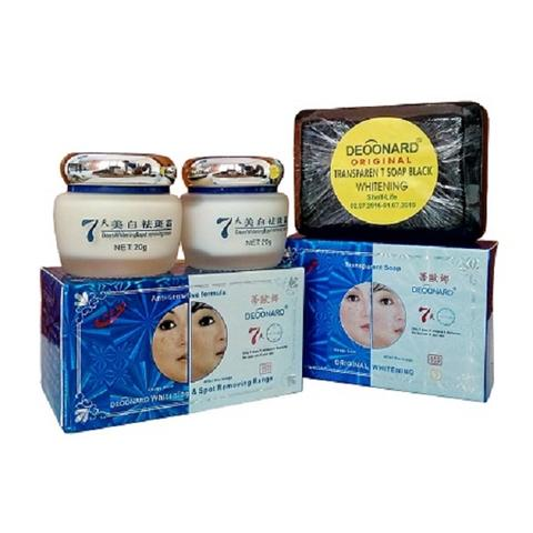 Paket Cream Deoonard Blue 7 Day Small Sabun Whitening