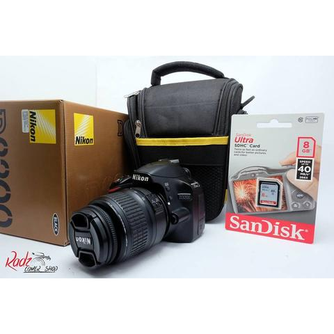 [Radz Camera Shop]Nikon D3200 Kit 18-55 Non VR Murah Mulus