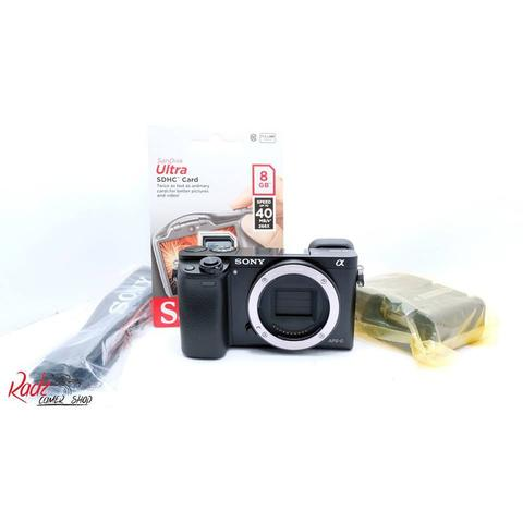 [Radz Camera Shop]Sony A6000 BO Black Body Only Like New SC Super Minim