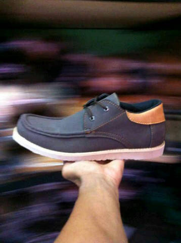 Sepatu Casual Boots Pria Zhoey ( Kickers , Timberland )