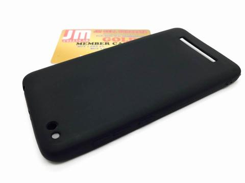 Silikon Soft Case Xiaomi Redmi 4A - Black Matte Polos Ultrathin