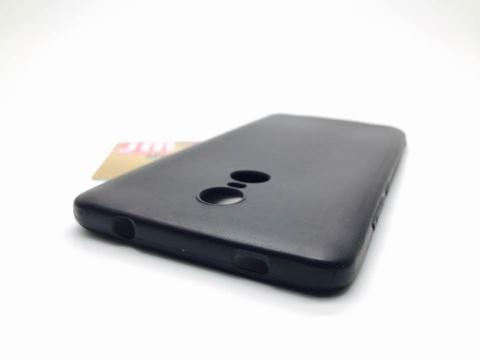 Silikon Soft Case Xiaomi Redmi Note 4x (Redmi Note 4 Snapdragon) - Black Matte