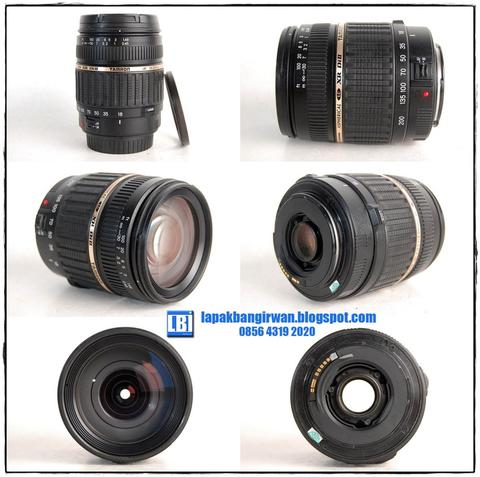 TAMRON 18-200mm Di II FOR CANON + FILTER UV [LBI Jogja]