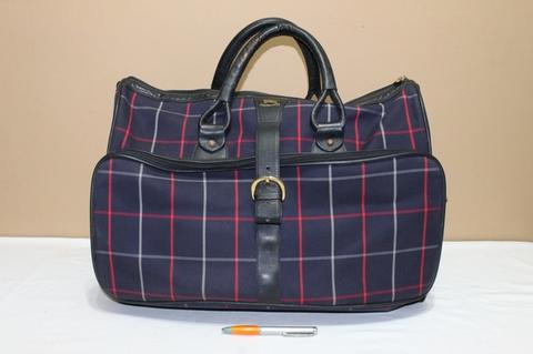 Tas branded BURBERRY LONDON BUR224 Travel bag England second bekas ori asli