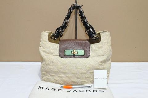 Tas branded MARC By MARC JACOBS Quilted chain bag second bekas ori asli