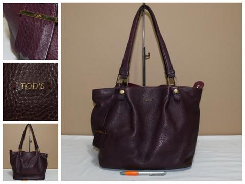 Tas branded TOD'S Violet shoulder bag second bekas original asli