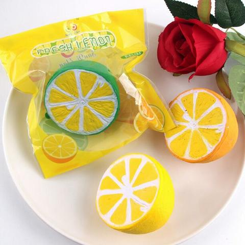 Squishy fresh lemon squishy jeruk by sanqi elan