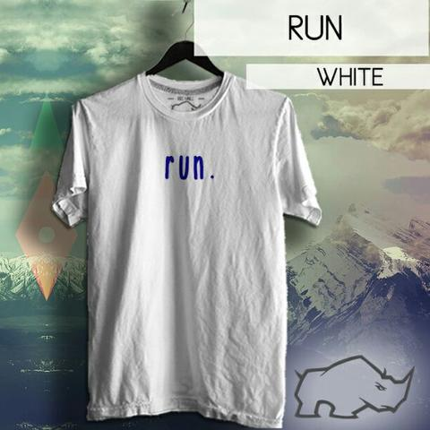 tshirt kaos running fitness run now