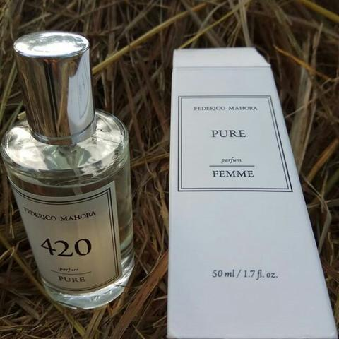 Parfum FM PURE 420 for woman aroma floral dgn fruity note