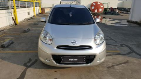 nissan march XS 2012
