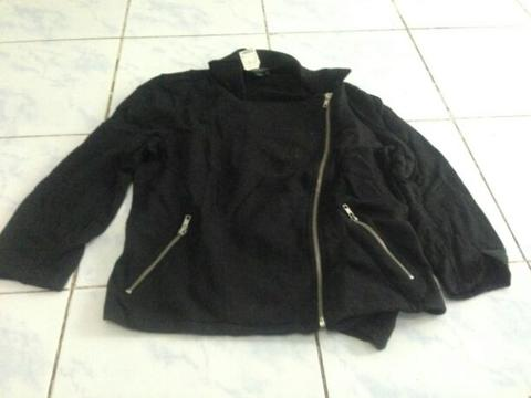 jaket forever21 original size cewe model bikers
