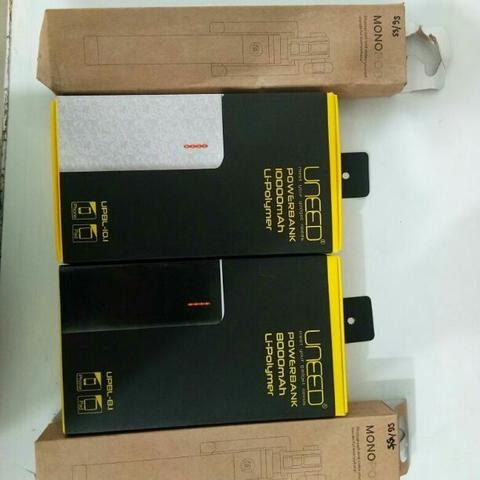 tongsis dan powerbank