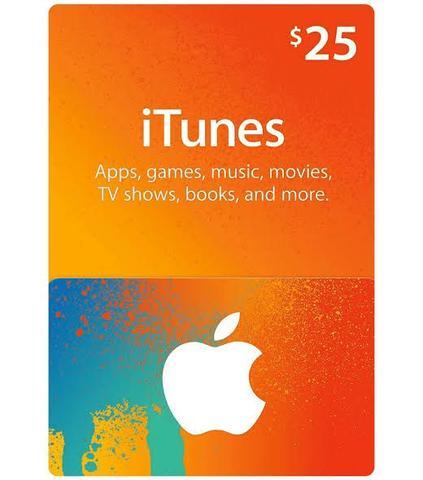 Itunes gift card region US