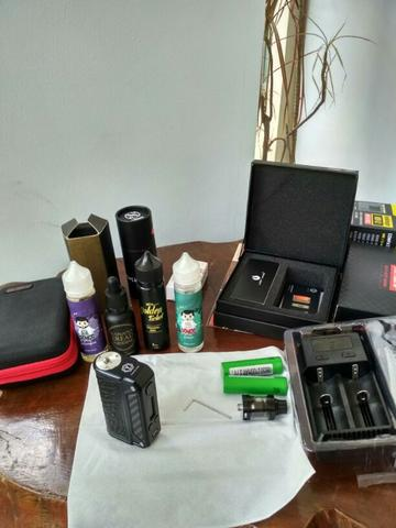 Vape Mod Therion DNA 75 Black Elephant Carbon
