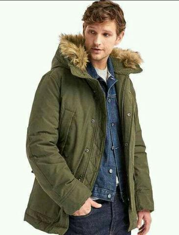 GAP ColdControl Max Snorkel Coat Parka Deep Woods