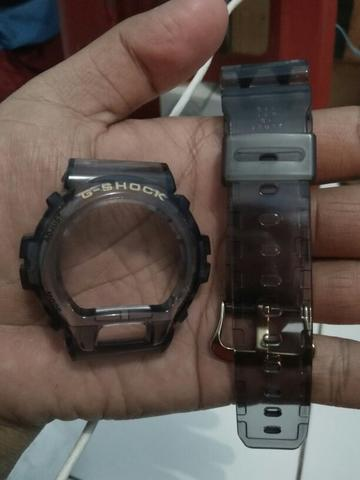 bnb gshock dw6900fg jelly smoke original