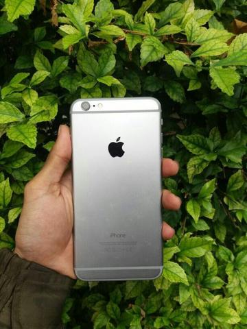 Iphone 6 plus 128gb grey Fu fullset Ex Inter bukan rekondisi