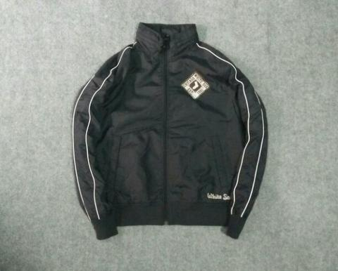 jaket parasut mlb white sox original uniqlo