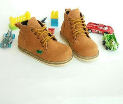 kids brown shoes, size 31-36