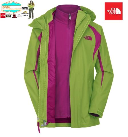 TNF THE NORTH FACE GIRLS MOUNTAIN VIEW INNER OUTER ORIGINAL NEW WITH TAG