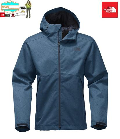 TNF THE NORTH FACE MENS MILLERTON JACKET SIZE M MENS ORIGINAL SHADY BLUE SLUB