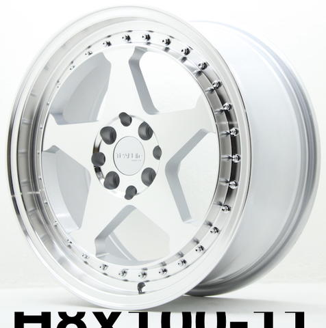 toko style racing vel9 TL-31 HSR 17X75/85 8X100-114,3 ET42/30SMFML