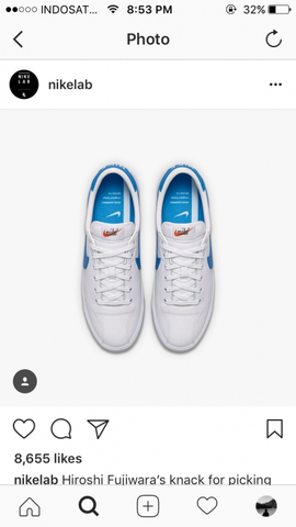 Nike tennis classic W zoom lauderdale fragment