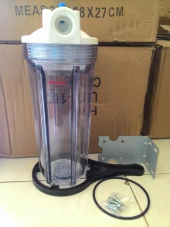 Housing Filter Ukuran 10 In Clear Drat 1/4in