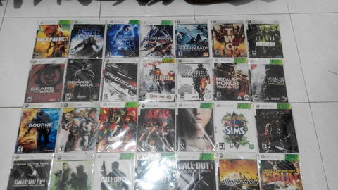 DVD Homemade XBOX360 Second Mulus & Work milik pribadi