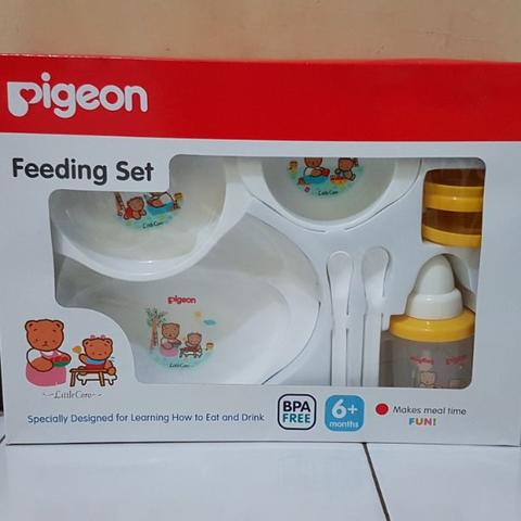 Pigeon Feeding Set with Training Cup 6M+