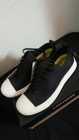 ... Converse jack purcell m series ox black leather size 40 NEW