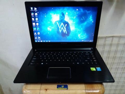 Laptop Notebook Lenovo Super Slim, RAM 4GB / 500GB, Bisa Tukar Tambah, Mangga Dua