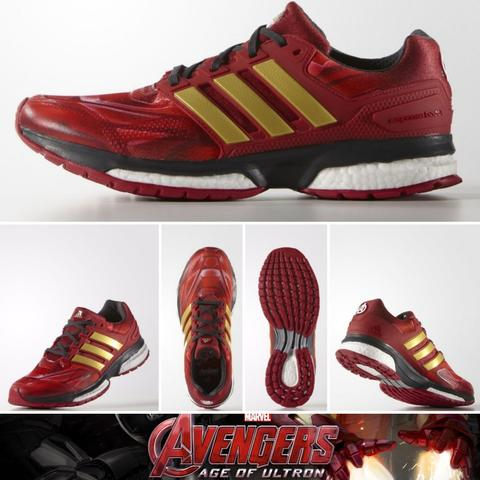 Unboxing ADIDAS RESPONSE BOOST TECHFIT MARVEL AVENGERS INCREDIBLE HULK S31660 (LIMITED EDITION)