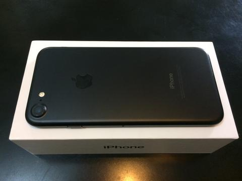 Iphone 7 matte black 32GB