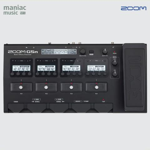 Zoom G5n (Efek Gitar, Soundcard Rekaman, Multi, Digital, Pedal, Stomp)