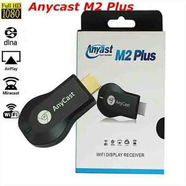 AnyCast M2 Plus DNLA Miracast HDMI Streaming Media - Easy Sharing